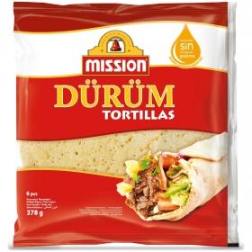 Tortillas de trigo Dürüm Mission 6 ud.