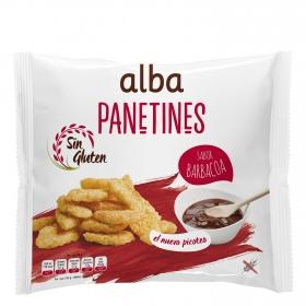 Panetines sabor barbacoa Alba sin gluten 90 g.