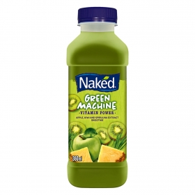 Smoothie Green Machine Naked botella de 36 cl.