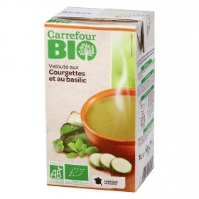 Crema de calabacín y albahaca ecológica Carrefour Bio 1Crema de calabacín y albahaca ecológica Carrefour Bio 1 l.