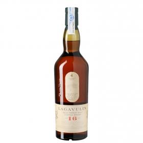 Whisky Lagavulin escocés 16 años 70 cl.