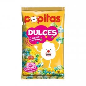 Palomitas de colores para microondas Popitas sin gluten 100 g.