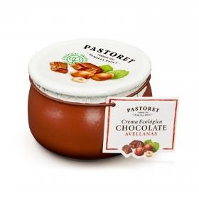 Crema de chocolate con avellanas ecológica Pastoret 100 g.