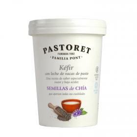 Kefir con semillas de chía Pastoret 500 g.