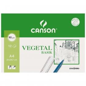 Minipack  A4 12 Hojas Vegetal Canson