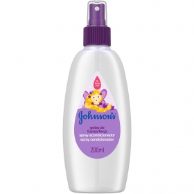 Acondicionador spray Gotas de fuerza Johnson's 200 ml.