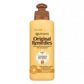 Aceite en crema sin aclarado Tesoros de Miel Original Remedies 200 ml.