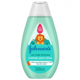 Champú no mas tirones Johnson's 500 ml.