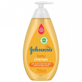 Champú dosificador Johnson's Baby 750 ml.