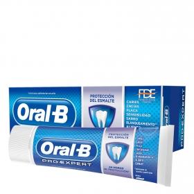 Dentífrico Pro-Expert Dientes Fuertes con barrera anti-azúcar Oral-B 75 ml.