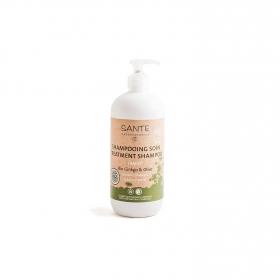 Champú Tratante Ginkgo & Olive ecológico Sante 500 ml.