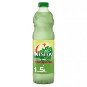 Refresco de té verde Nestea sabor manzana botella 1,5 l.