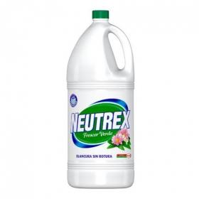 Lejía perfumada Frescor Verde Neutrex 4 l.