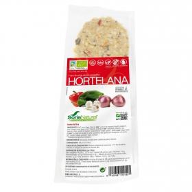 Hamburguesa de tofu estilo hortelana ecológica Soria Natural sin gluten y sin lactosa 160 g.