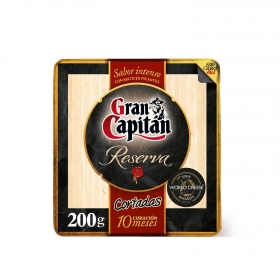 Queso añejo ya cortado Gran Capitán Leyenda 200 g
