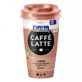 Café latte light Kaiku sin lactosa 370 ml.