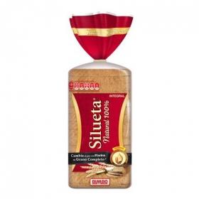 Pan natural 100% Bimbo Silueta 450 g.