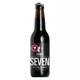 Cerveza artesana Coisbo Seven Barley Wine-Oak Matured botella 33 cl.