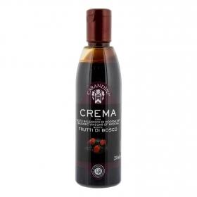 Vinagre balsámico de módena con frutos del bosque Carandini 250 ml.