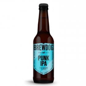 Cerveza artesana BrewDog Punk IPA botella 33 cl.