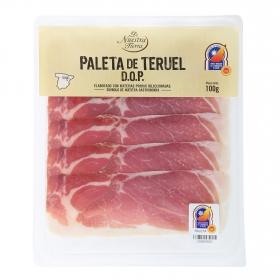Paleta curada D.O.P Teruel De Nuestra Tierra 100 g