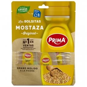 Mostaza Prima pack de 4 bolsitas de 15 g.