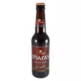 Cerveza artesana O'Hara's irlandesa roja botella 33 cl.