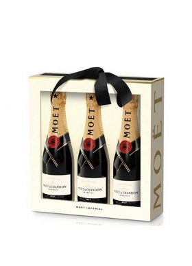 Estuche 3 Bot. 20 Cl. Moet Chandon