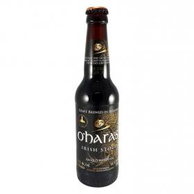 Cerveza artesana O'Hara's irlandesa negra botella 33 cl.