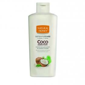 Gel de ducha de coco addiction Natural Honey 75 ml.