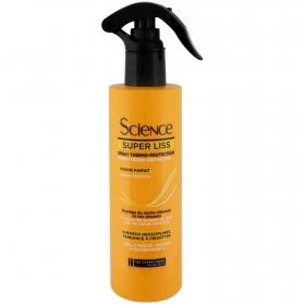 Spray Termoprotector Super Liss Les Cosmétiques Kera Science 200 ml.