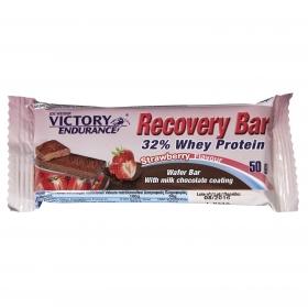 Barritas de proteínas sabor fresa Recovery Victory Endurance 50 g.
