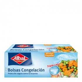 Bolsas de congelacion pequeñas Albal 40 ud.