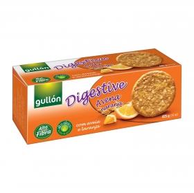 Galletas de avena y naranja Digestive Gullón 425 g.