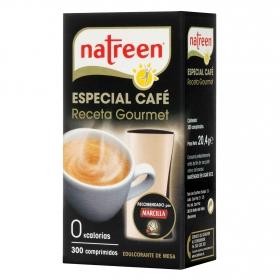 Edulcorante Gourmet  comprimido especial para cafe Natreen 300 ud.