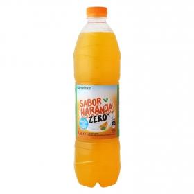 Refresco de naranja sin gas botella 1,5 l.
