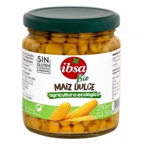 Maiz dulce bio ecológico Ibsa sin gluten 150 g.