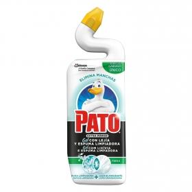 Gel con lejía y espuma limpiadora Pato 750 ml.