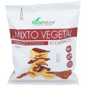 Aperitivo de verduras ecológico Soria Natural sin gluten 30 g.
