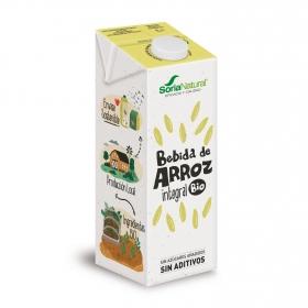 Bebida de arroz ecológica Soria Natural brik 1 l.