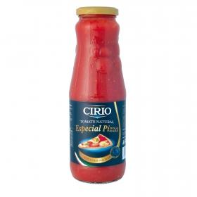 Tomate natural especial pizza Cirio 680 g.