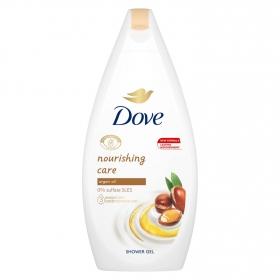 Gel de ducha con aceite de argán piel seca Dove 500 ml.