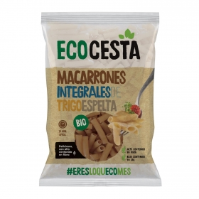 Macarrones de espelta ecológicos Ecocesta 500 g.