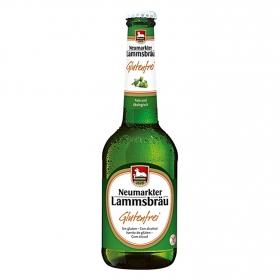 Cerveza ecológica Lammsbräu sin gluten botella 33 cl.