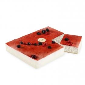 Tarta de queso con frutos rojos 1 ud