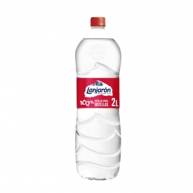 Agua mineral Lanjarón natural 2 l.
