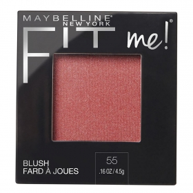 Colorete nº 55 blush Fit Me! Maybelline 1 ud.