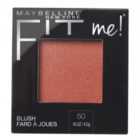 Colorete nº 50 blush Fit Me! Maybelline 1 ud.