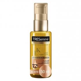 Aceite Liso Keratina con aceite de Marula Tresemmé 50 ml.