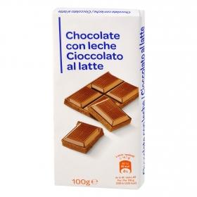 Chocolate con leche 100 g.